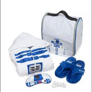 Star Wars R2-D2 Spa Set Size s/m robe, slippers...